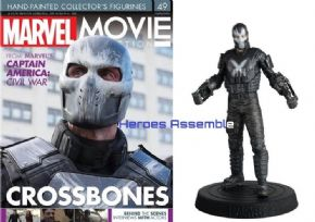 Marvel Movie Collection #049 Crossbones Figurine Eaglemoss Publications